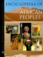 Encyclopedia Of African Peoples