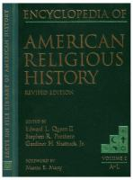 Encyclopedia of American Religious History