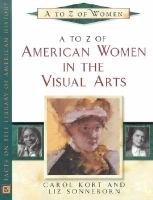 A to Z of American Women in the Visual Arts