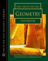 Facts on File Geometry Handbook