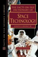 The Facts on File Dictionary of Space Technology