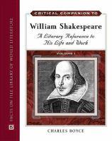 Critical Companion to William Shakespeare