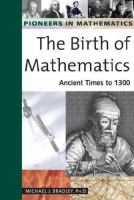 The Birth of Mathematics