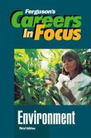 Careers in Focus, Environment