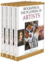 Biographical Encyclopedia of Artists