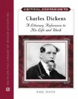 Critical Companion to Charles Dickens