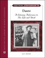 Critical Companion to Dante