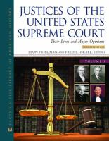 Justices of the United States Supreme Court