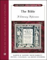 Critical Companion to the Bible