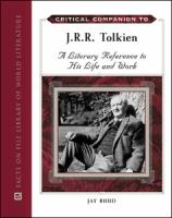 Critical Companion to J. R. R. Tolkien