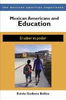 Mexican Americans and Education