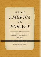 From America to Norway