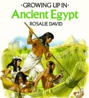 Growing Up In Ancient Egypt