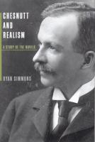 Chesnutt and Realism