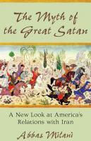 The Myth of the Great Satan