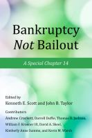 Bankruptcy Not Bailout