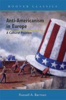 Anti-Americanism in Europe