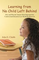 Learning From No Child Left Behind