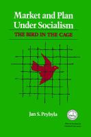 Market and Plan Under Socialism