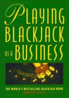 Playing Blackjack As A Business