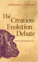 The Creation-evolution Debate