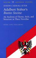 Adalbert Stifter's Bunte Steine