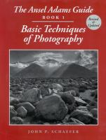 The Ansel Adams Guide, Book 1