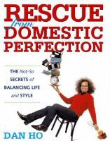 Rescue From Domestic Perfection