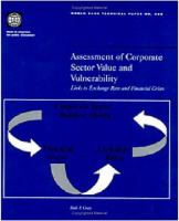 Assessment of Corporate Sector Value and Vulnerability