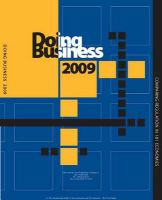 Doing Business 2009: Comparing Regulation in 181 Economies