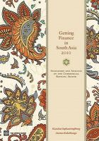 Getting Finance in South Asia 2010