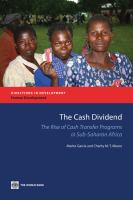 The Cash Dividend