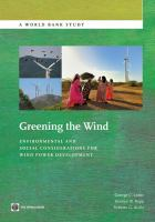 Greening the Wind