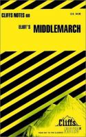 Middlemarch: Notes