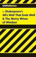 All's Well That Ends Well and the Merry Wives of Windsor