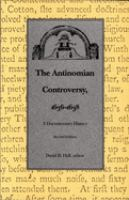 The Antinomian Controversy, 1636-1638
