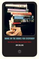Bring on the Books for Everybody