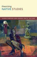 Theorizing Native Studies