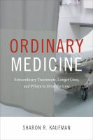 Ordinary Medicine