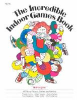 The Incredible Indoor Games Book