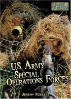 U.S. Army Special Operations Forces