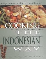 Cooking the Indonesian Way