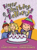Happy Birthday, Mallory!