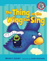 The Thing on the Wing Can Sing