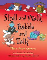 Stroll And Walk, Babble And Talk
