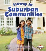 Living in Suburban Communities