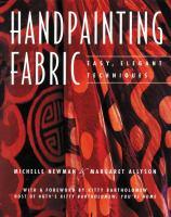 Handpainting Fabric