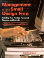 Management for the Small Design Firm