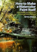 How to Make A Watercolor Paint Itself