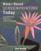 Water-based Screenprinting Today